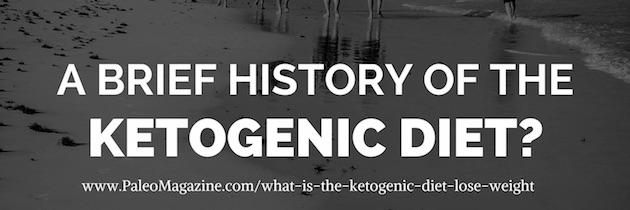 history ketogenic diet