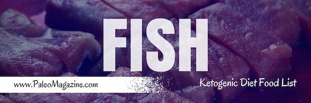 ketogenic diet food list - fish