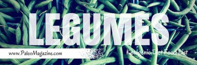 ketogenic diet food list - legumes