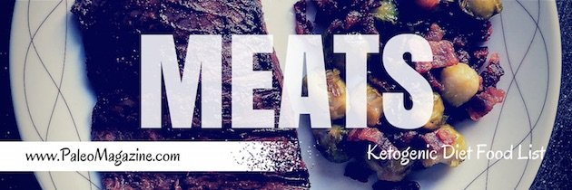 ketogenic diet food list - meats