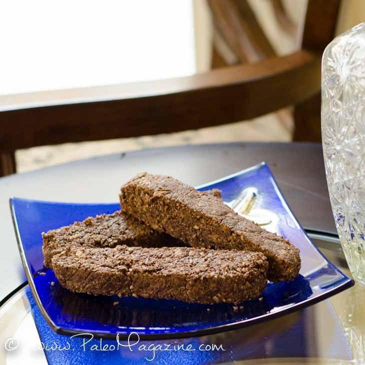 Sugar-Free Chocolate Biscotti Recipe [Paleo, Gluten-Free, Dairy-Free] #paleo #recipes #glutenfree https://ketosummit.com/sugar-free-chocolate-biscotti-recipe-paleo-gf-dairyfree