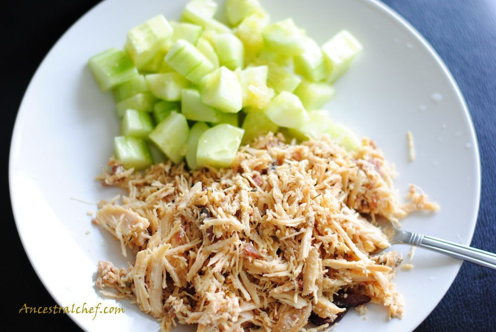 Slow Cooker Bacon and Chicken