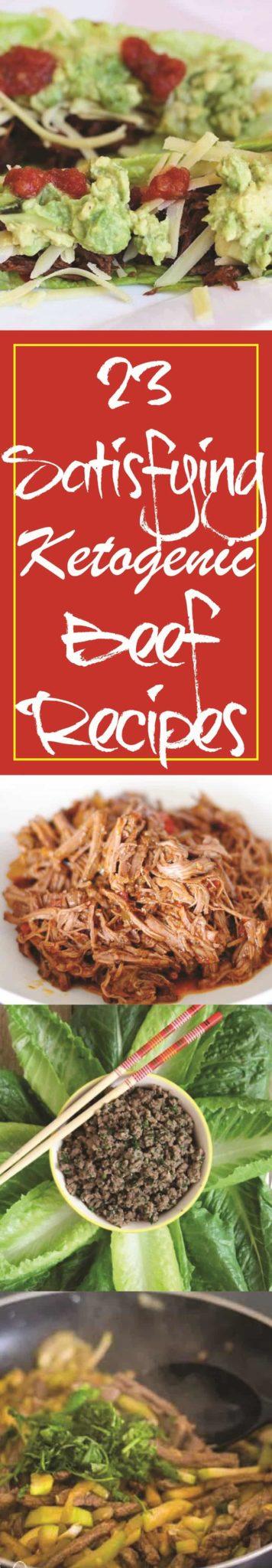 Ketogenic Beef Recipes #paleo #recipes - https://ketosummit.com/ketogenic-beef-recipes/