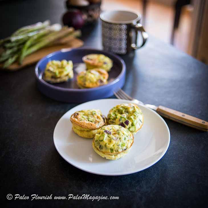 Keto Bacon Asparagus Mini Frittata Recipe [Paleo, Dairy-Free] – How To Make Keto Egg Muffins #keto #paleo #dairy-free #recipe https://ketosummit.com/keto-bacon-asparagus-frittata-recipe