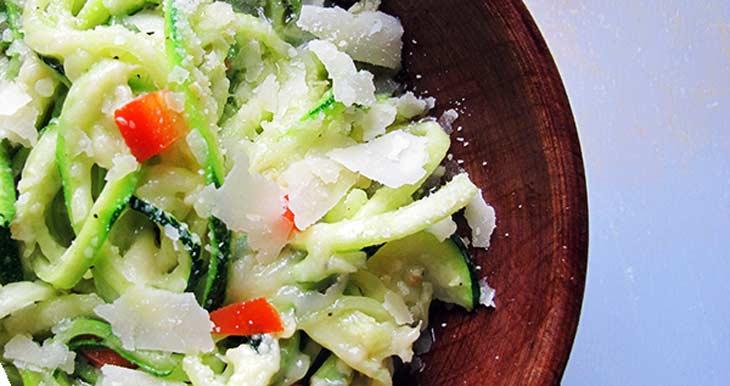 Cheesy Zucchini Aglio e Olio