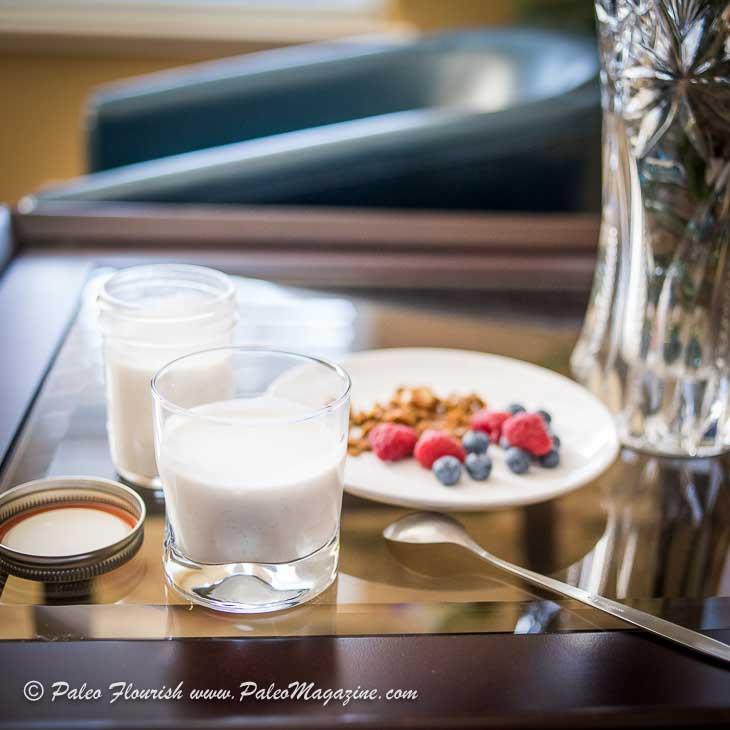 Instant Pot Coconut Yogurt Recipe [Paleo, Keto, AIP] #paleo #keto #aip - http://amzn.to/2BkJItF-coconut-yogurt-recipe