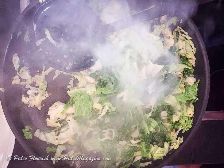 Keto Creamy Meatballs Recipe with Fried Cabbage [Paleo, AIP] #paleo #keto #aip - https://ketosummit.com/keto-creamy-meatballs-recipe-paleo-aip