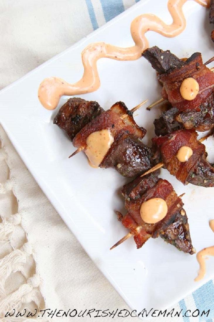 Keto Bacon Recipes #keto - https://ketosummit.com/keto-bacon-recipes