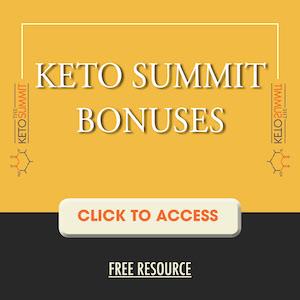 Keto Summit Bonuses