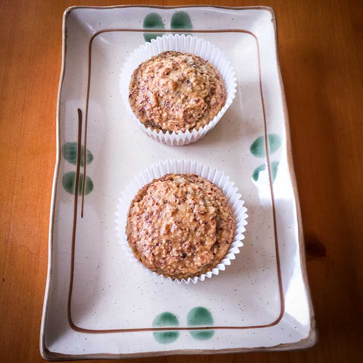 Keto 2-Ingredient Muffins Recipe #keto https://ketosummit.com/2-ingredient-keto-muffins-recipe