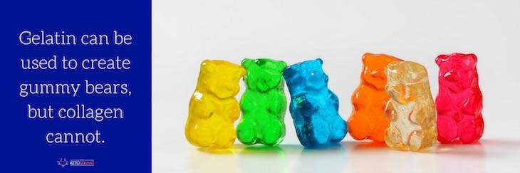 gelatin gummy bears