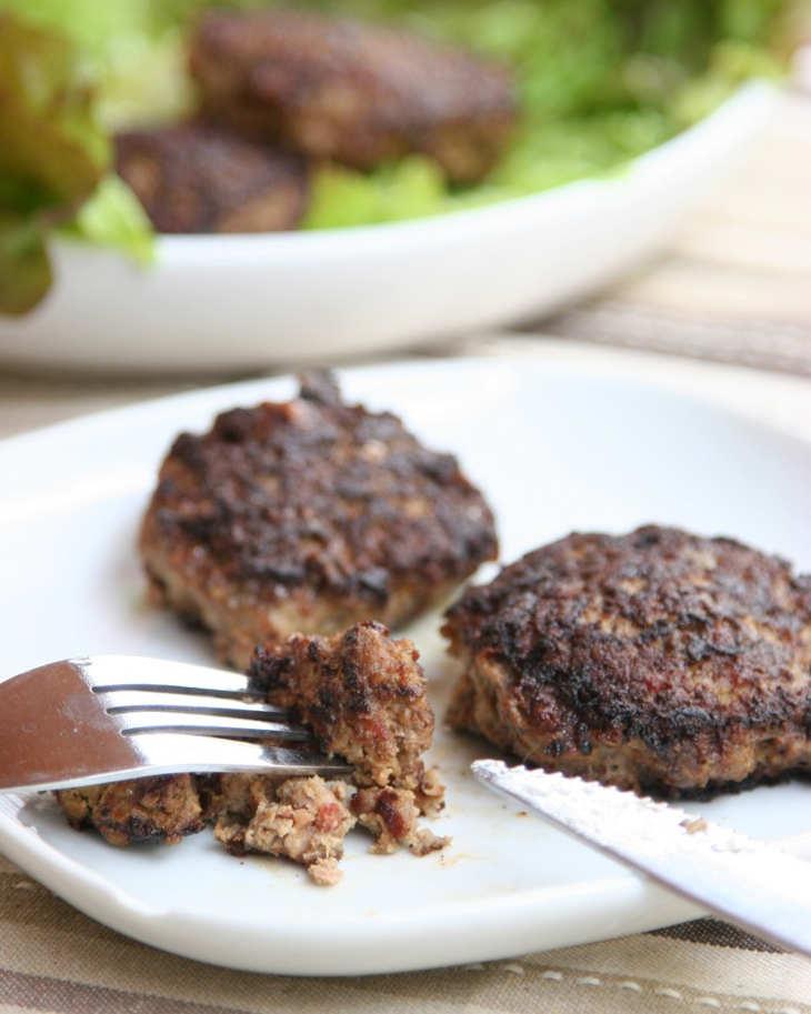 Liver and bacon keto meatballs