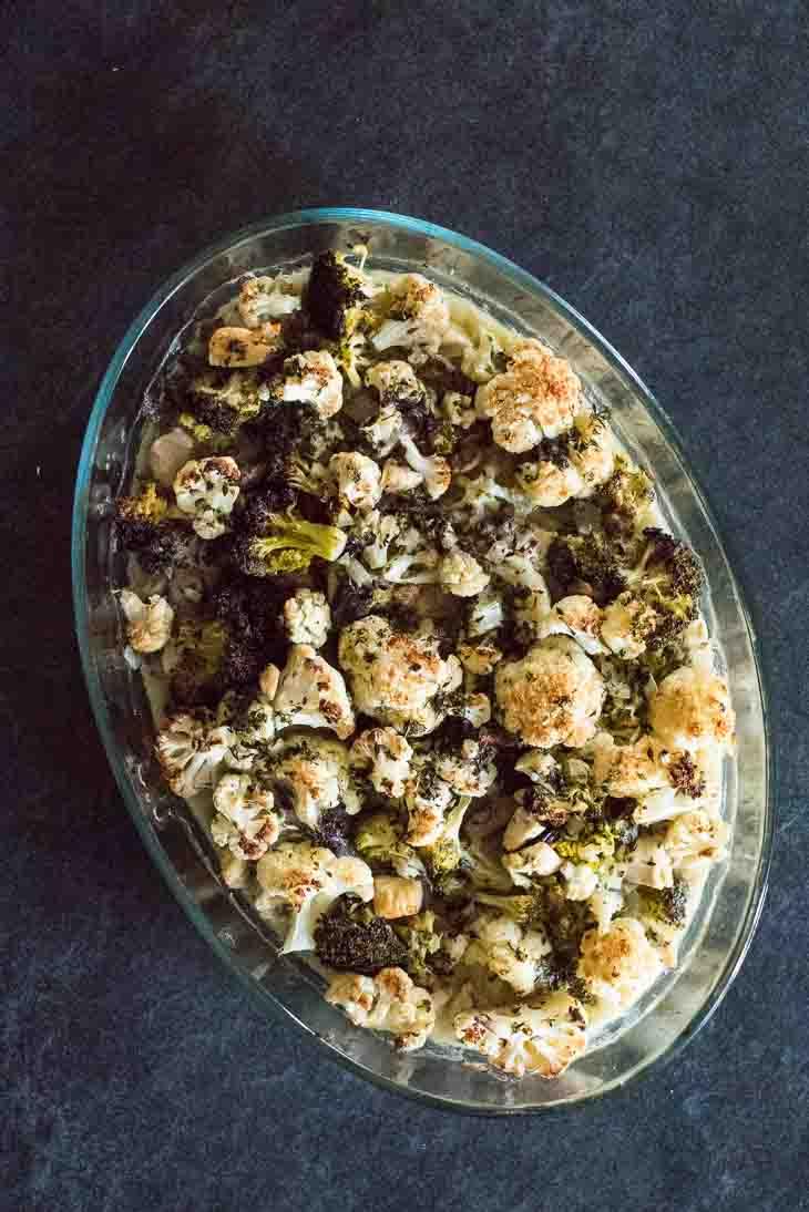 Keto Chicken Cauliflower Casserole Recipe [Dairy-Free, Paleo] #keto https://ketosummit.com/keto-chicken-cauliflower-casserole-dairy-free