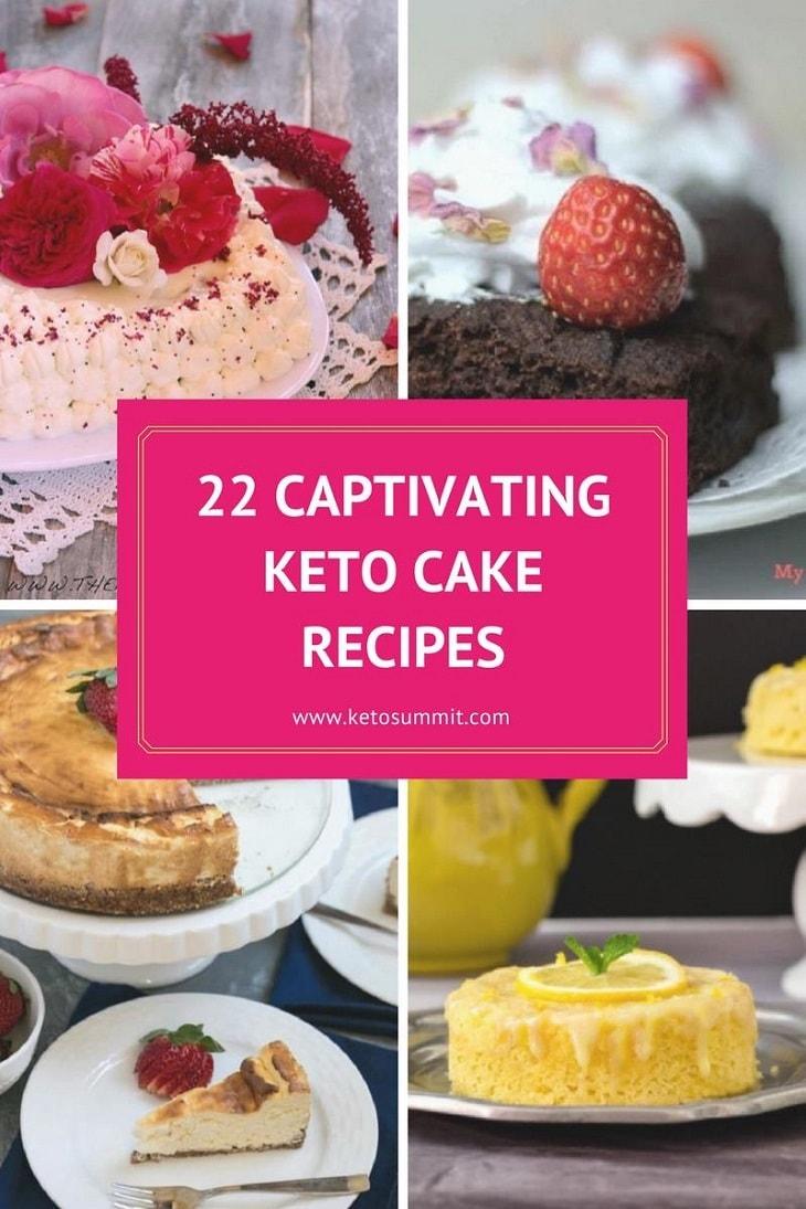 Keto Cake Recipes #keto - https://ketosummit.com/ketogenic-cake-recipes/