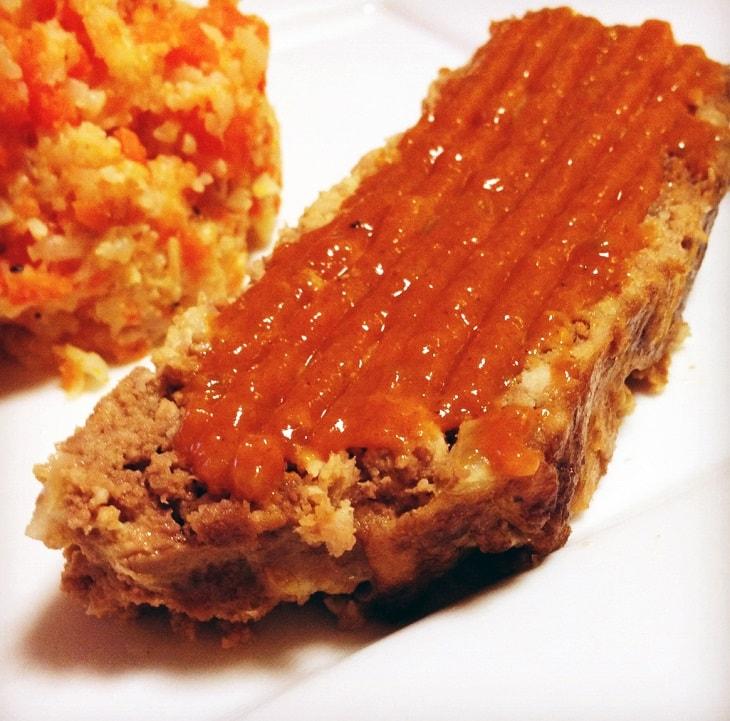 Bbq keto meatloaf