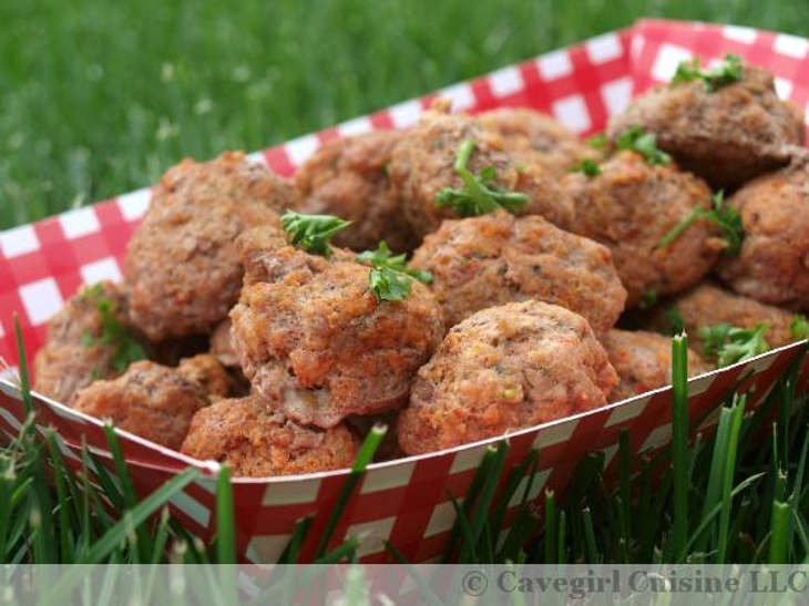Sneaky keto meatballs for picky eaters