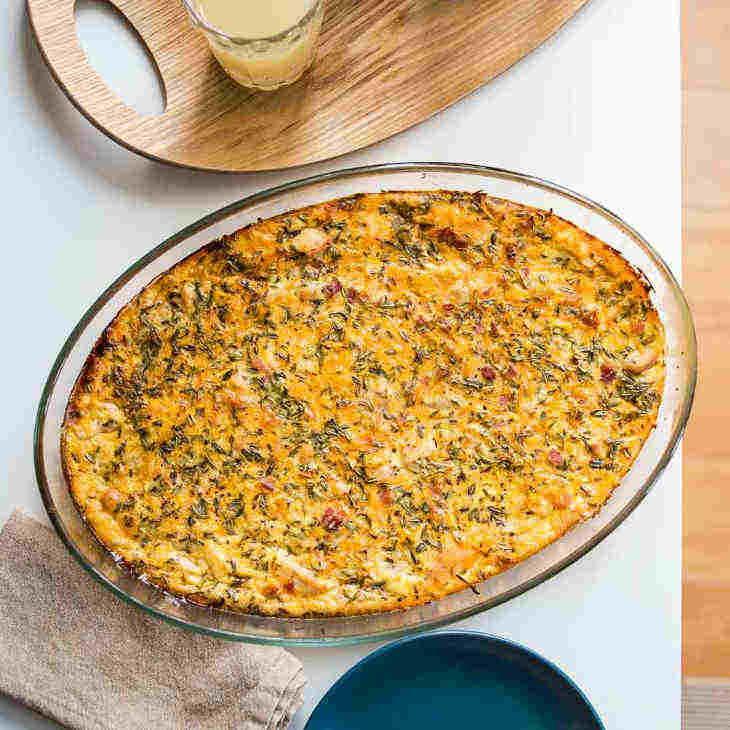 Keto Chicken and Bacon Casserole with Thyme