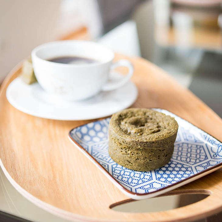 Keto Matcha Mug Cake