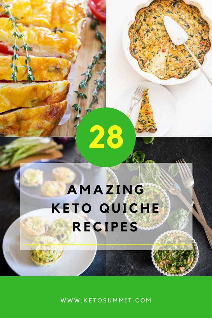 Keto Quiche Recipes #keto https://ketosummit.com/keto-quiche-recipes