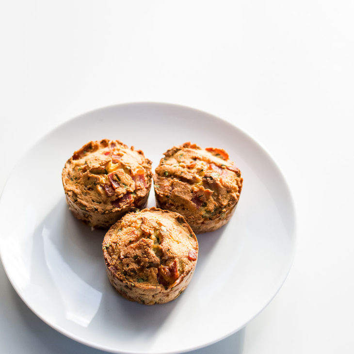 Keto Coconut Bacon Egg Muffins