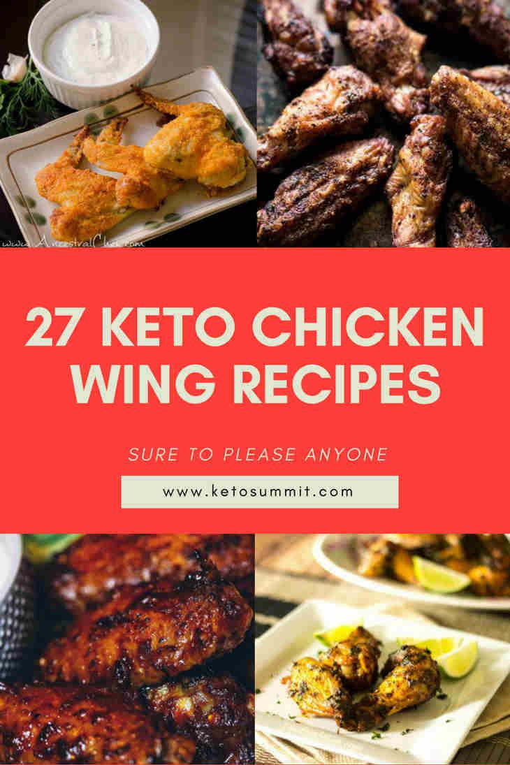 27 Keto Chicken Wing Recipes Sure To Please Anyone https://ketosummit.com/keto-chicken-wing-recipes