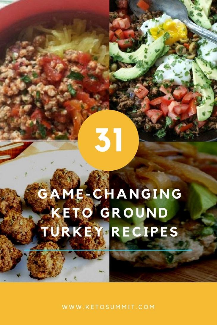 31 Game-Changing Keto Ground Turkey Recipes www.ketosummit.com/keto-ground-turkey-recipes