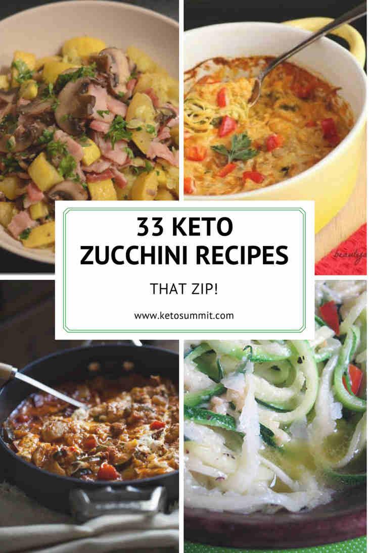 33 Keto Zucchini Recipes That Zip! https://ketosummit.com/keto-zucchini-recipes