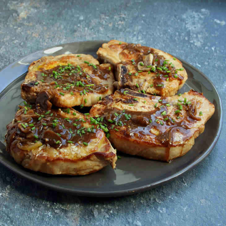 Keto Crockpot Pork Chops