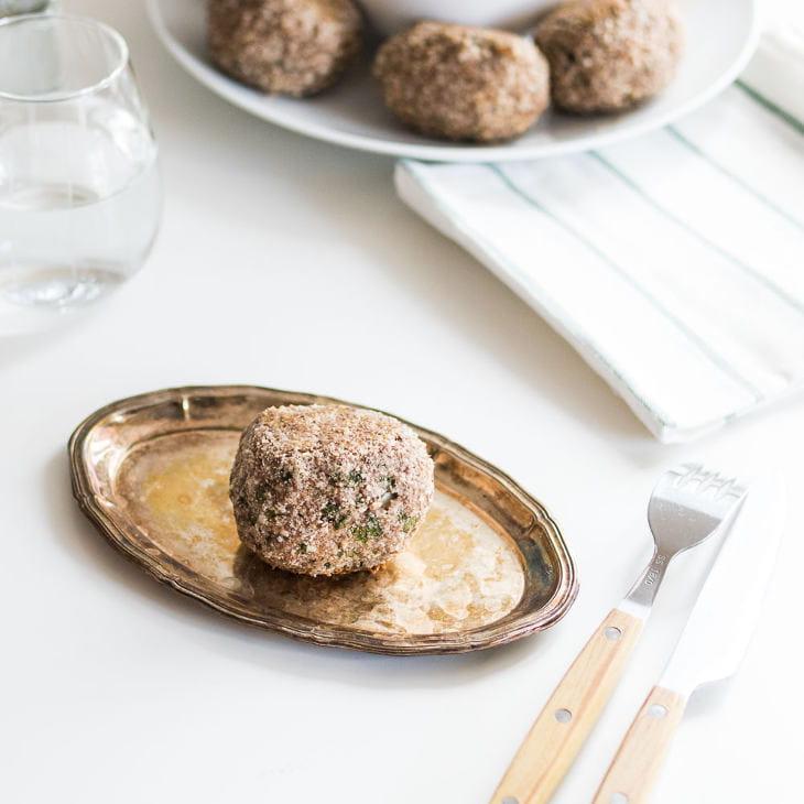 Keto Baked Scotch Eggs Recipe