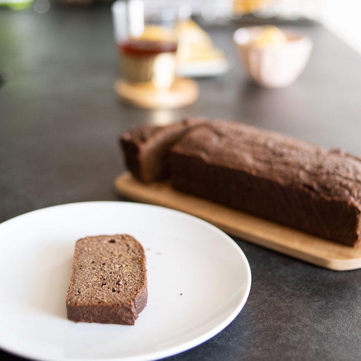 Keto Avocado Chocolate Bread