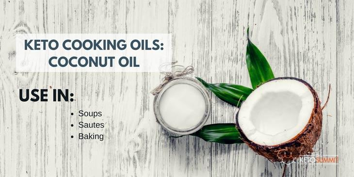 COCONUT OIL - Best Keto Cooking Oil