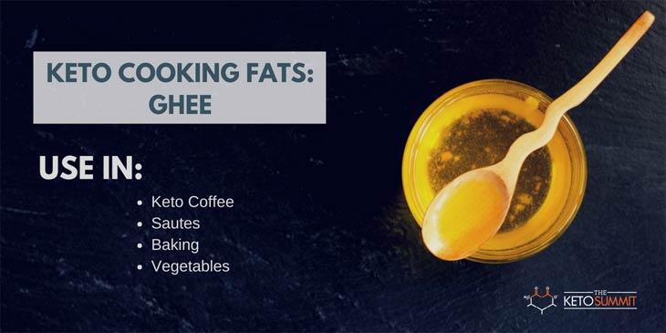 GHEE - Best Keto Cooking Fat