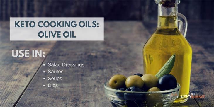 OLIVE OIL - Best Keto Cooking Oil