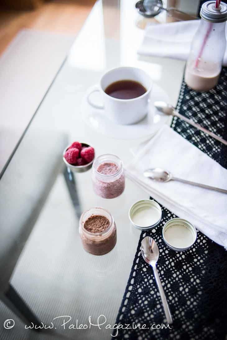 Keto Cinnamon Chocolate Chia Pudding Recipe