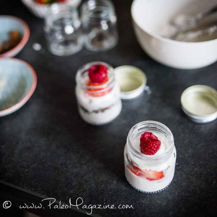 Coconut Yogurt Berry Parfait Recipe