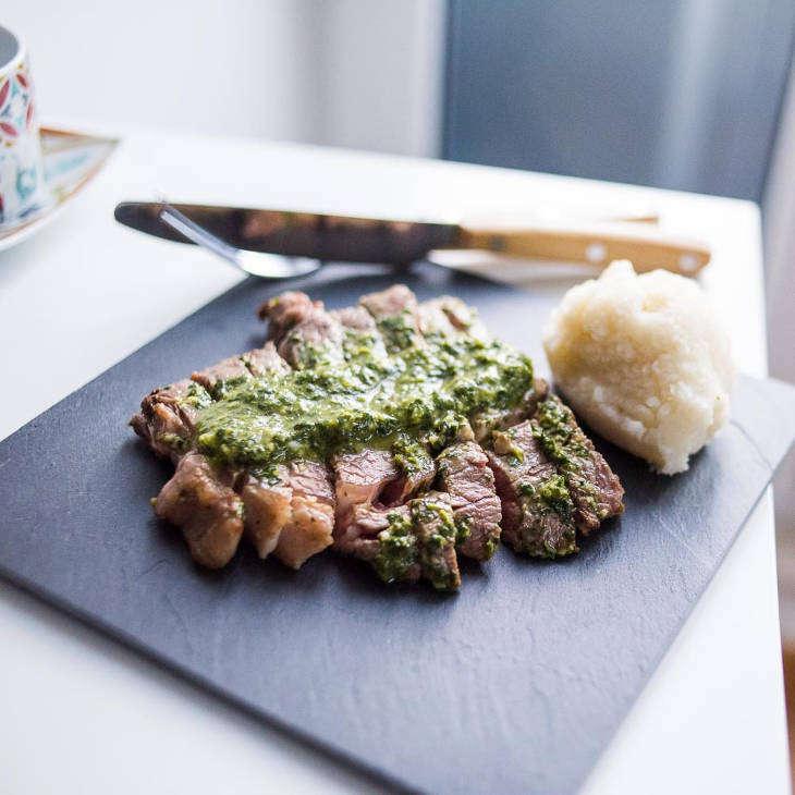 Keto Chimichurri Grilled Steak
