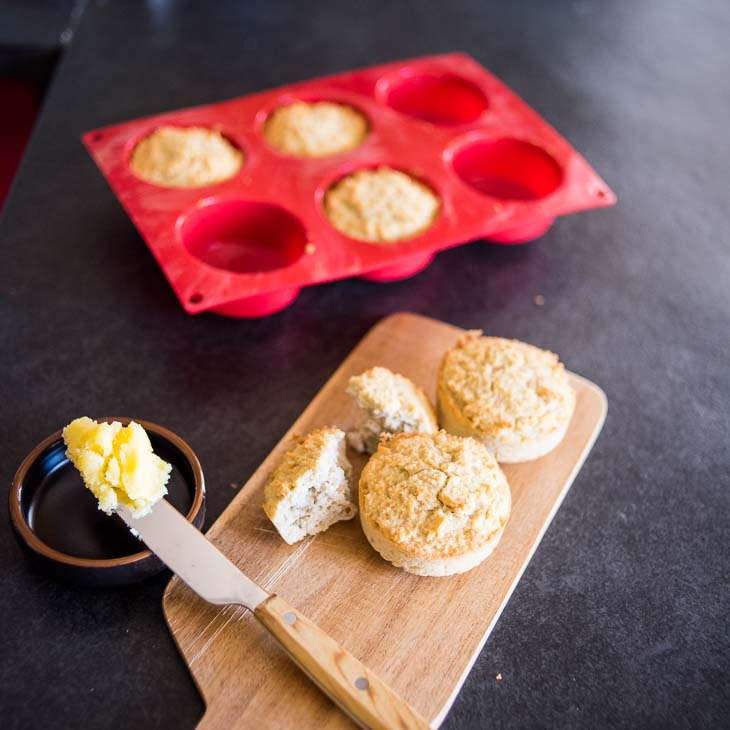 """Keto """"Cornbread"""" Muffins Recipe"""
