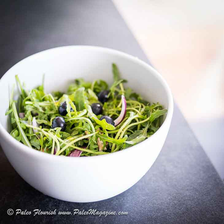 Keto Lemon Blueberry Chicken Salad Recipe