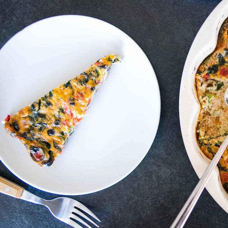 Paleo Vegetable Quiche Recipe