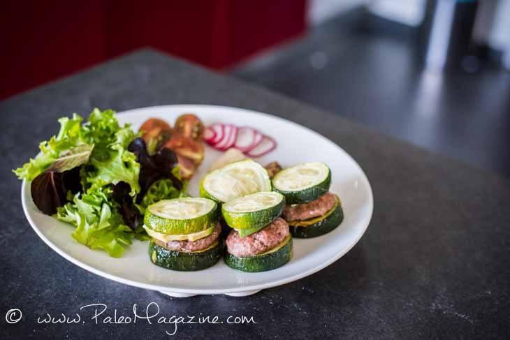 Mini Zucchini Avocado Burgers Recipe