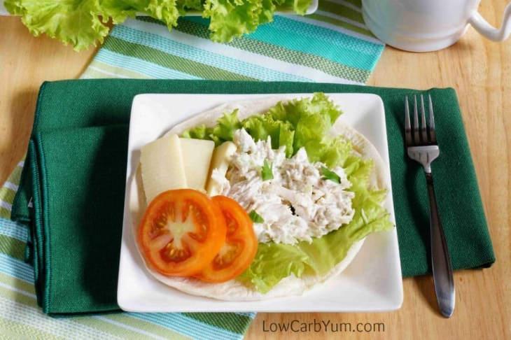 Basic Chicken Salad for a Keto Diet