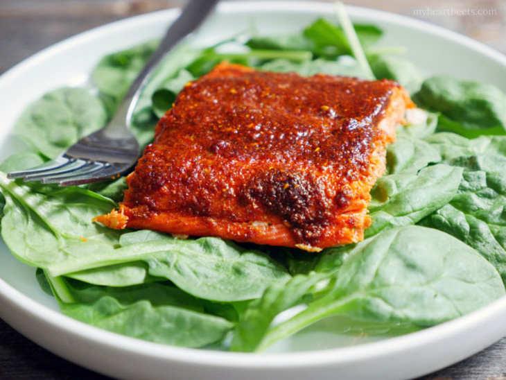10-Minute Tandoori Salmon