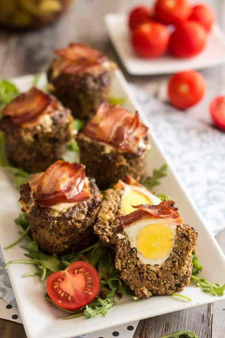 Power Breakfast Egg Meatmuffins