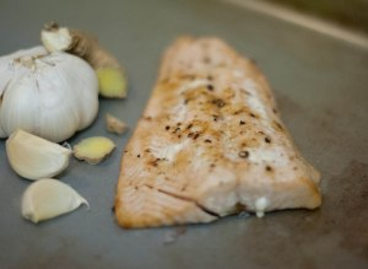 Ginger Garlic Salmon