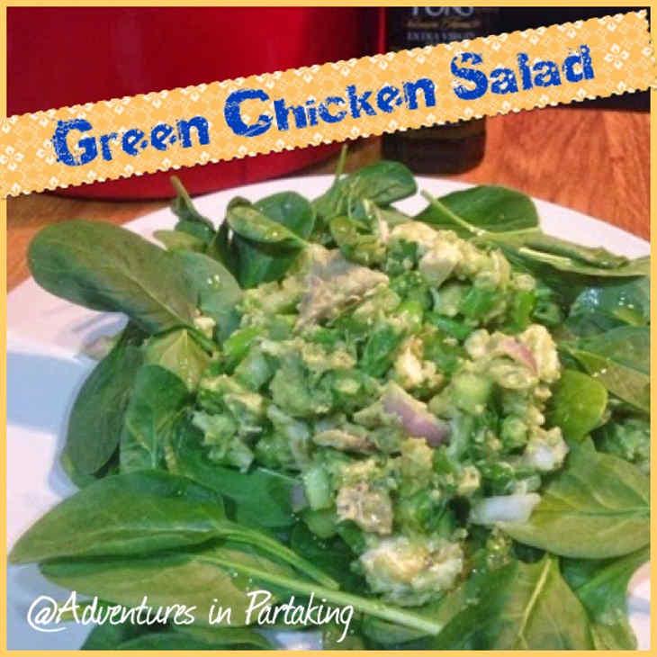 Keto Friendly Green Chicken Salad