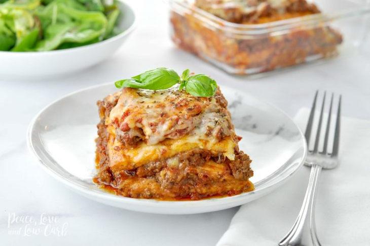 """""""Just Like The Real Thing"""" Lasagna!!"""