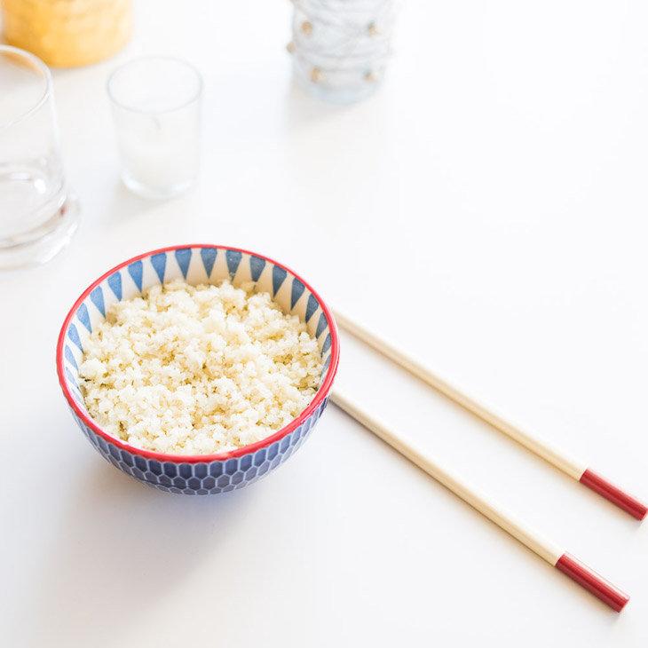 Keto Cauliflower White Rice