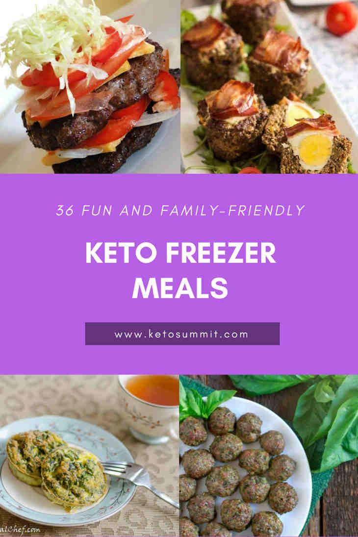 36 Fun and Family-Friendly Keto Freezer Meals https://ketosummit.com/keto-freezer-meals