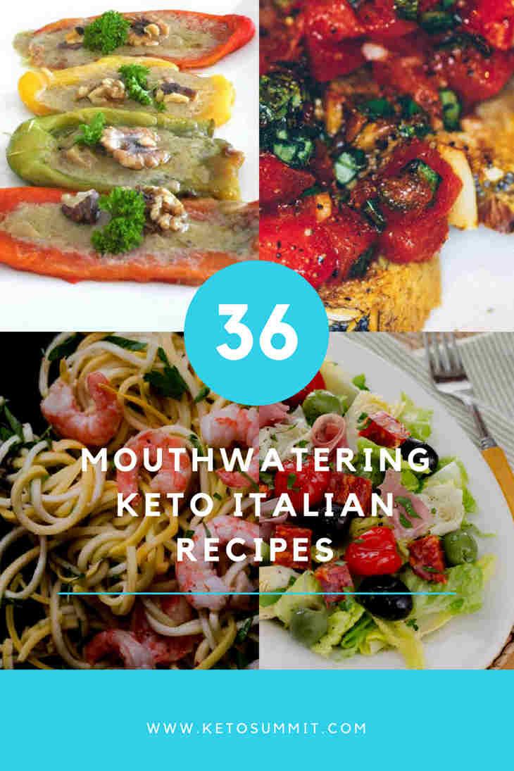 36 Mouthwatering Keto Italian Recipes