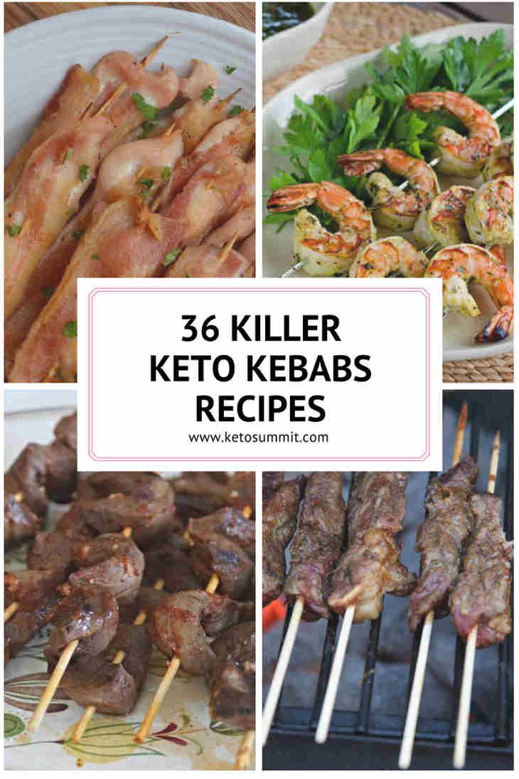 36 Killer Keto Kebabs Recipes